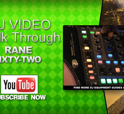Rane Sixty – Two Mixer Video Demo