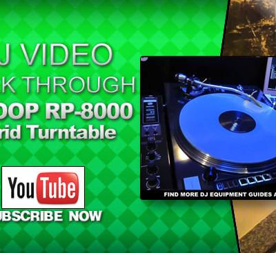 Reloop RP 8000 Hybrid Turntable Video Walk Through