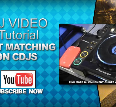 Beat Matching on CDJs Beginner DJ Video
