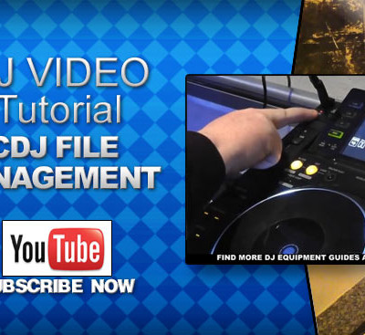 Pioneer CDJ File Management Video Tutorial