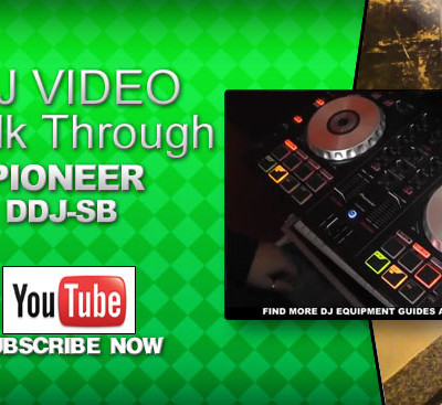 Pioneer DDJ-SB Quick Guide Video
