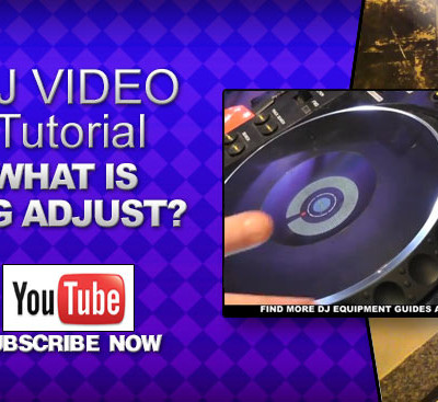 Beginner DJ Video: What is Jog Adjust