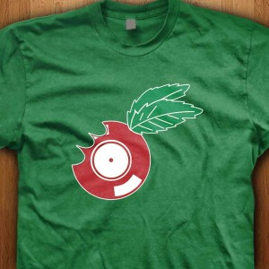 Apple-Vinyl-Shirt