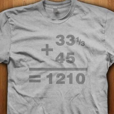 DJ-Maths-Shirt