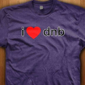 I-Love-DNB-Shirt