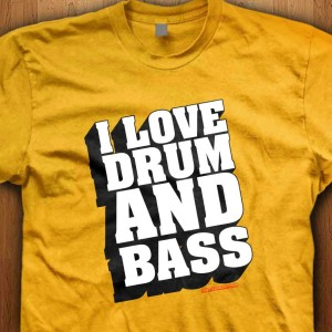 I-Love-Drum-And-Bass-Shirt