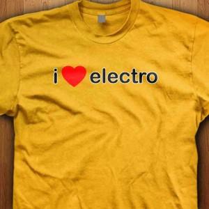 I-Love-Electro-Shirt