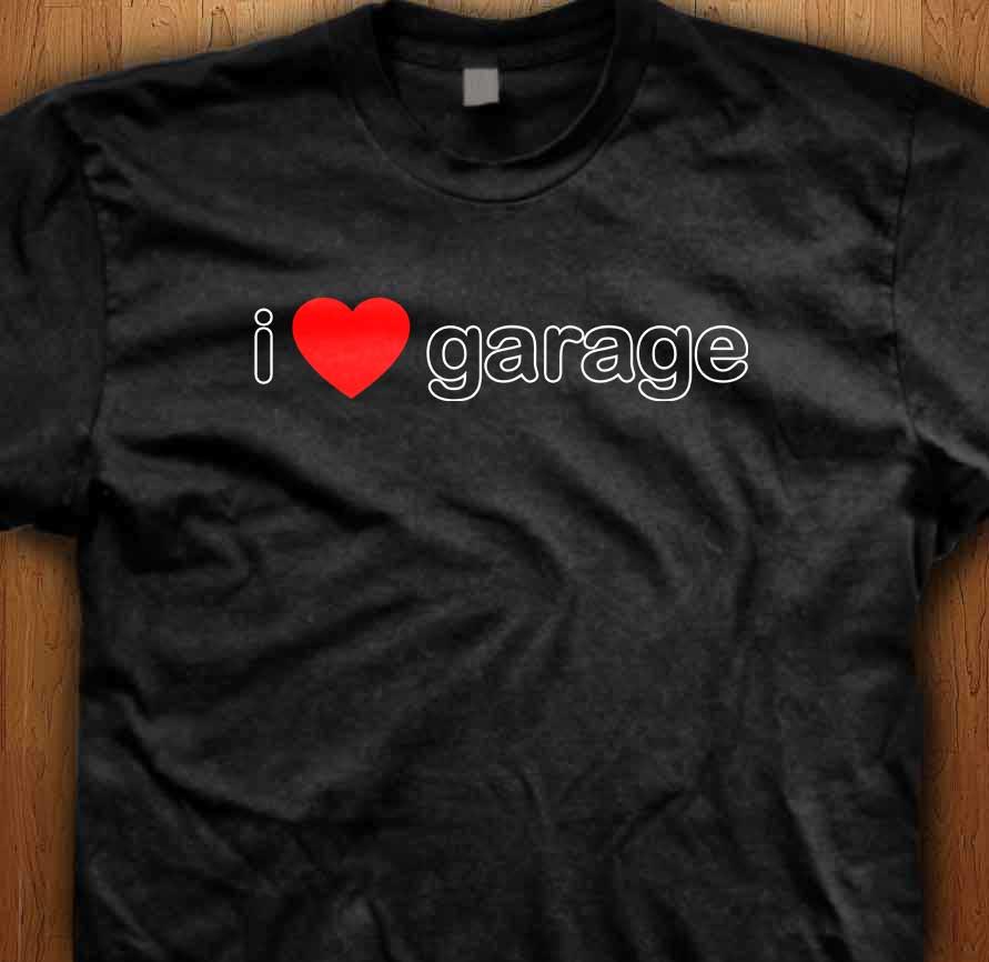 I Love Garage Music T-Shirt
