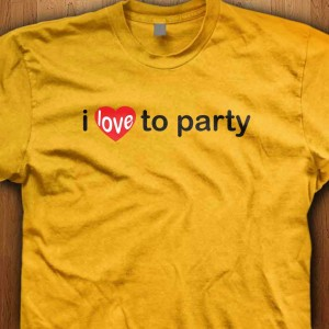 I-Love-To-Party-Shirt