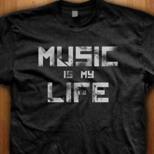 Music-Is-My-Life-Shirt