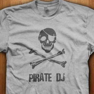 Pirate-DJ-Shirt