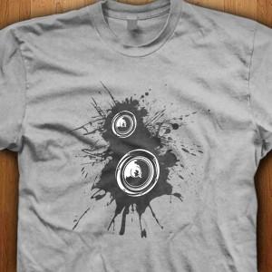 Speaker-Splatter-Shirt