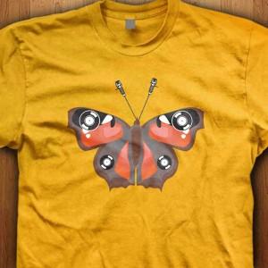 Vinyl-Butterfly-Shirt
