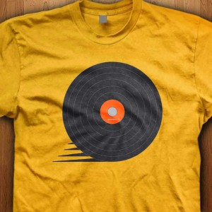 Vinyl-Speed-Shirt