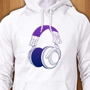 DJ-Headphones-2-Hoodie