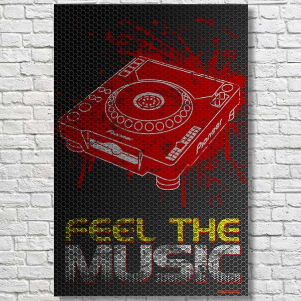 Feel-The-Music-CDJ-Large-Poster