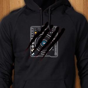 Pioneer-Scratched-CDJ-1000-Hoodie
